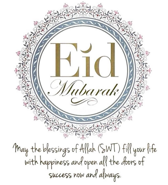 Eid ul Fitr Mubarak –2015