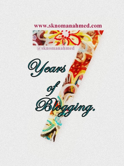 7 Years ofBlogging