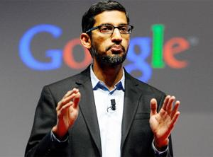 Sundar Pichai, Chief Executive Officer of Google Inc.