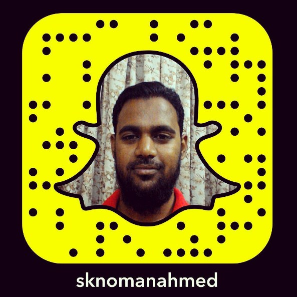 sknomanahmed on snapchat
