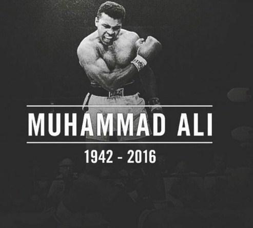 Muhammad Ali : The Legend dies at74