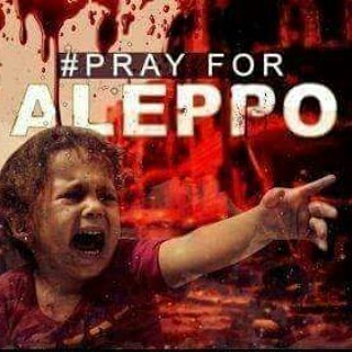 Pray for Aleppo, Syria