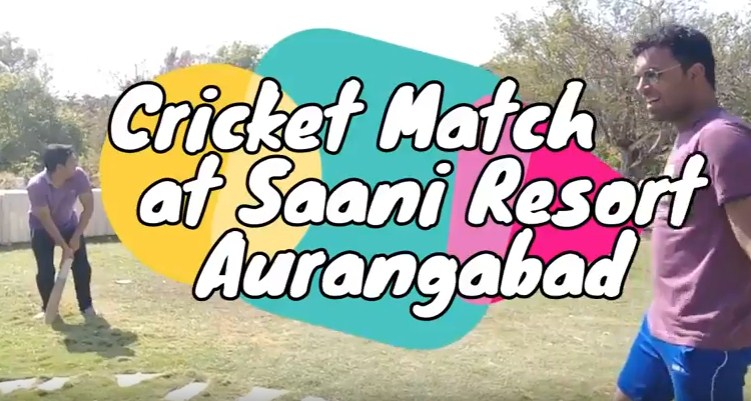 Cricket Match at Saani Resort, Naregaon, Aurangabad