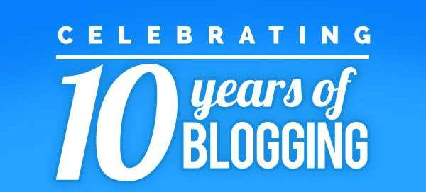 10 Years ofBlogging