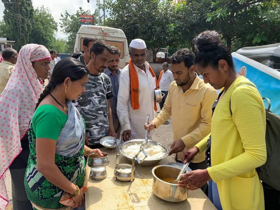 Free food donation by Sani WelfareFoundation